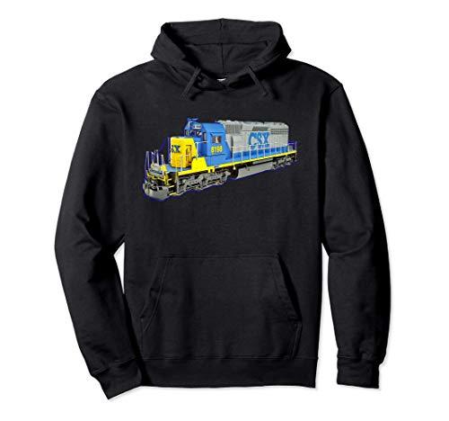 Güterzug CSX Motor Pullover Hoodie
