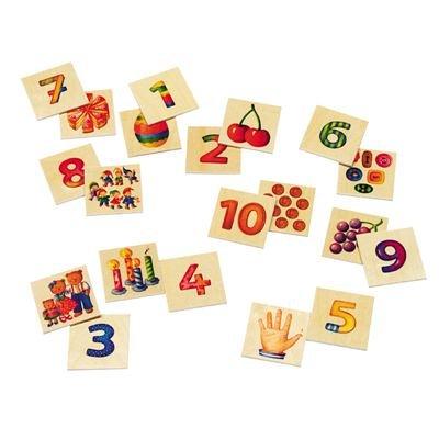 Selecta Numero - juguetes para el aprendizaje (6,2 cm, 6,2 cm, 20 cm,