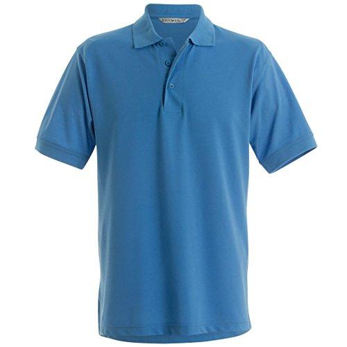 Kustom Kit KK403 Mens Short Sleeve Klassic Superwash Polo Shirt - White - 5X-Large