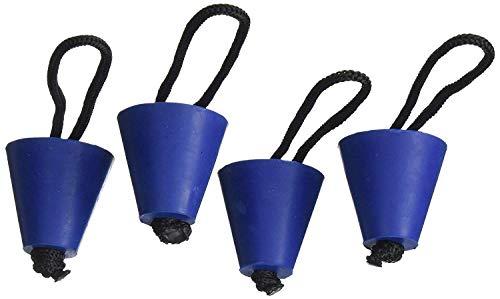 Hinter Universal Kajak Scupper Plug Kit (passend für: Hobie Kajaks, Native Kajaks, Wildnissystem-Kajaks, Feelfree Kajaks, Wahrnehmungskajaks, Old Town Kajaks und alle Anderen großen Marken)