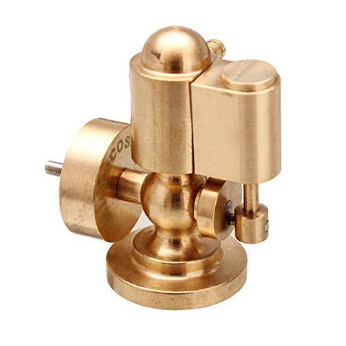 deguojilvxingshe Mini-Dampfmaschinenmodell, Einzylinder-Modellbausätze aus reinem Kupfer für Schiffsmodelle, Science Creative-Geschenkset für Erwachsene
