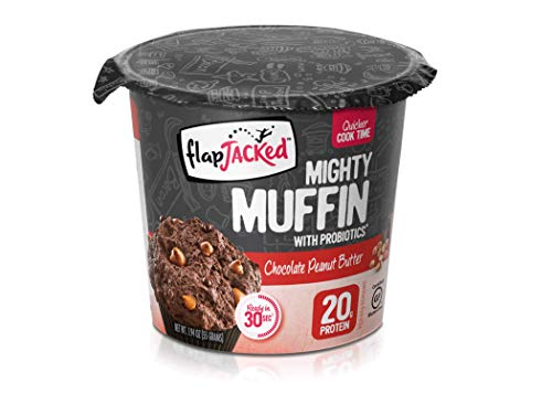 FlapJacked Mighty Muffins, Gluten-Free Chocolate Peanut Butter, 12 count