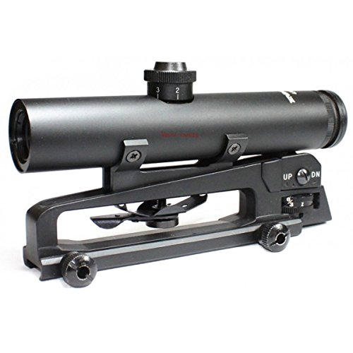TAC Vector Optics Tactical Streak 4x22 Carry Handle Compact Riflescope Telescopic Sight