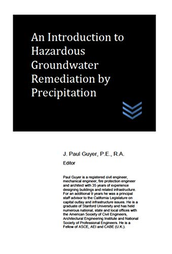 An Introduction to Hazardous Groundwater Remediation by Precipitation