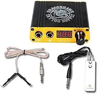 LCD Portable Mini Tattoo Power Supply Clip Cord Foot Pedal Kit P077EUYMX