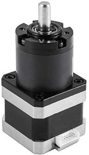 popular Mophorn Nema 17 Geared Stepper Motor 48mm Body 19:1 Planetary Gearbox Low Speed High Torque 2021 3.1V 1.3A wholesale 55N.cm for DIY 3D Printer Extruder CNC Milling Engraving Machine outlet online sale
