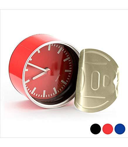 BigBuy Gadget Horloge, S1401551, Azul Y Amarillo, Talla única