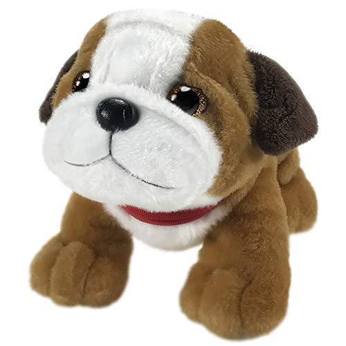 First & Main 7' Tan & White Wuffles Bulldog Puppy Dog Basic Plush Toys