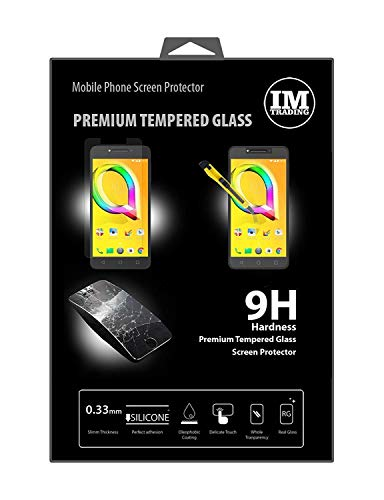ENERGMiX Schutzglas kompatibel mit ALCATEL A5 LED (5085D) Premium Tempered Glas Panzerdisplayglas Folie Schutzfolie