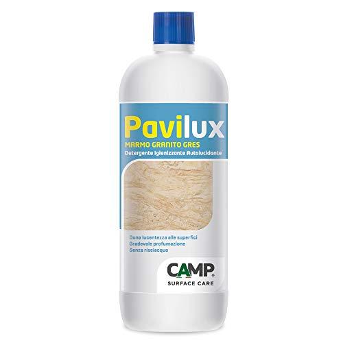 Camp PAVILUX MARMO, GRANITO E GRES, Detergente igienizzante per pavimenti in marmo, granito e gres porcellanato