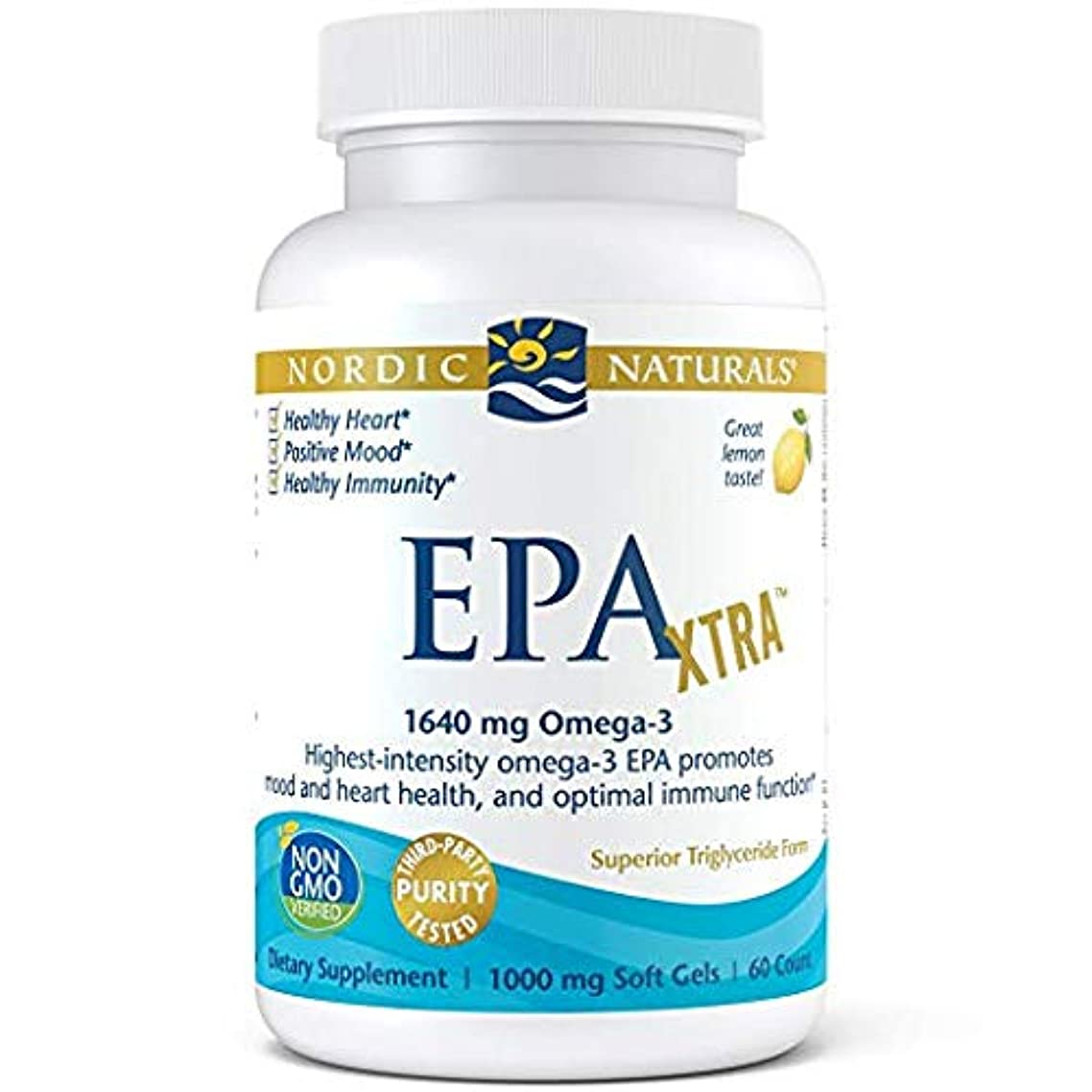 Nordic Naturals - EPA Xtra, Promotes Mood and Heart Health, and Optimal Immune Function, 60 Soft Gels