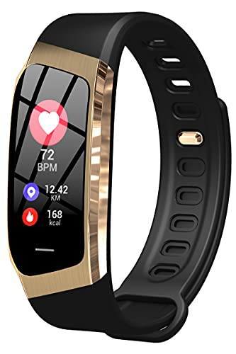 Fitness Armbanduhur Smartwatch Schrittzähler Schlafanalyse Blutdruck Herzfrequenz Blutsauerstoff IP68 Wasserdicht Kalorienzähler SMS Bluetooth Tracker IOS Android Damen Herren Jungen