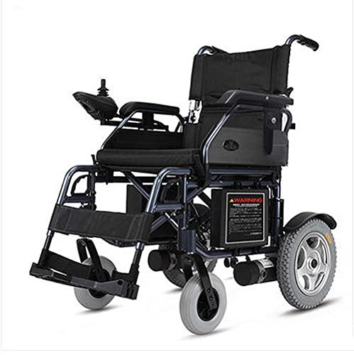 WXDP Autopropulsado Scooter eléctrico Plegable eléctrico para discapacitados, Marco de Aluminio Ligero, eléctrico Inteligente