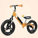 TQJ Kinderwagen 3 in 1 Kinderwagen Balance Bike Lightweight Kinderbilanz Auto Slide Auto Baby Kind...