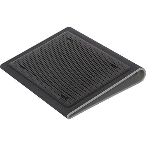 """Targus base refrigeradora para ordenador con 2 ventiladores, soporte inclinado para portátiles de hasta 17"""", soporte ventilador ergonómico y cómodo – negro, AWE55GL"""