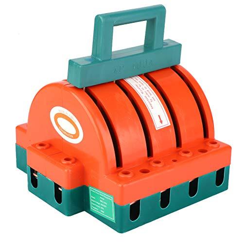 4p Double Lancer Changer, Intelligent Lumière 380v Cuivre, Plastique 63/100a Industriel Entreprises Et Ménage appareils électroménagers (Orange)