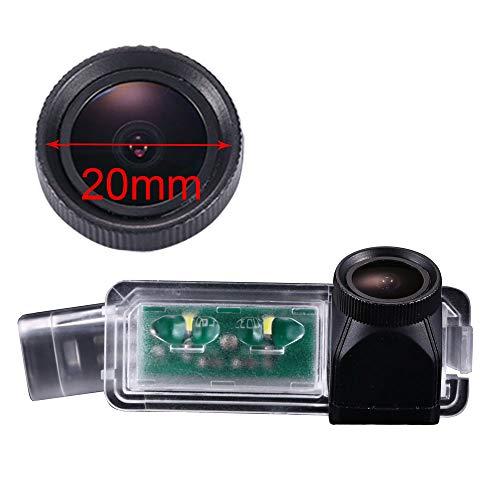 20mm HD Lens Wasserdicht Auto Rückfahrkamera Kennzeichenbeleuchtung Kamera für VW Golf5/V/Golf7 MK7/VII/Passat CC/Skoda Scirocco/Seat Leon/Seat Leon 5F/Lamando/Limouine bj 2005-2008