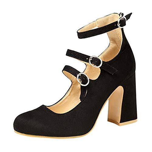 Minetom Zapatos para Mujer-Sandalias De Tacon Alto De Aguja-Elegantes-Novia-Boda-Nupcial-Vestido De Fiesta-Punta Abierta-Correa...