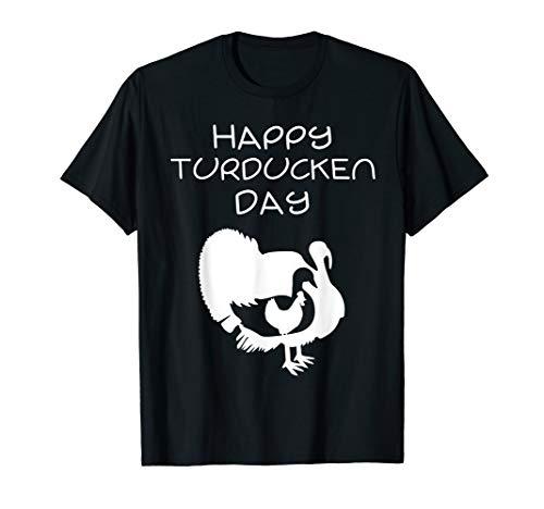 Christmas or Thanksgiving Happy Turducken Day T-Shirt