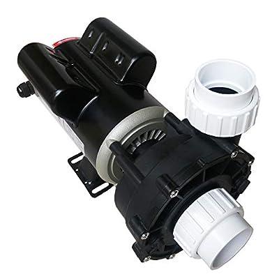"KL KEY LANDER Hot Tub Spa Pump, 1.5HP, Two Speed, 48Frame LX Motor (115V/60Hz); 2"" Port; OEM Model #37334-03; 48WUA1001C-II"