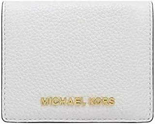 Michael Kors Women's Fulton Carryall Leather Wallet (Optic White)