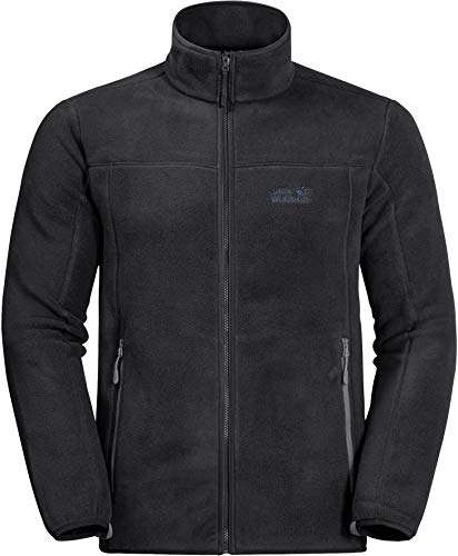 Jack Wolfskin Herren Moonshine ALTIS Men Fleecejacke, Black, XL