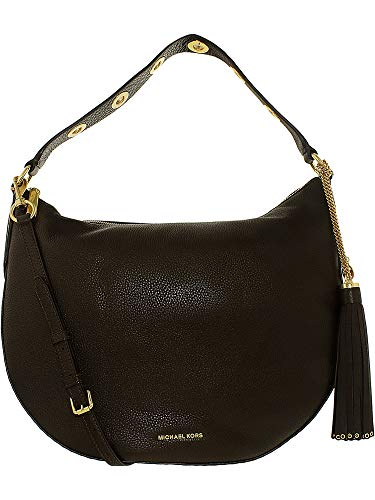 Michael Kors Women's Large Brooklyn Convertible Leather Shoulder Bag...