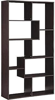 Mainstay Home 8-Shelf Bookcase (Espresso) (Espresso, 8-Shelf) (8-Shelf, Espresso)
