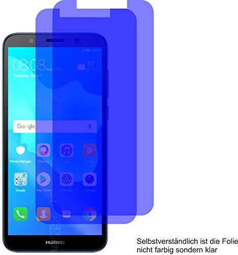 4ProTec I 2X Crystal Clear klar Schutzfolie für Huawei Y5 Lite Bildschirmschutzfolie Displayschutzfolie Schutzhülle Bildschirmschutz Bildschirmfolie Folie