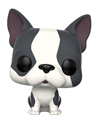 Funko- Pets: French Bulldog Figurina de Vinilo, Color gris y blanco (11254)