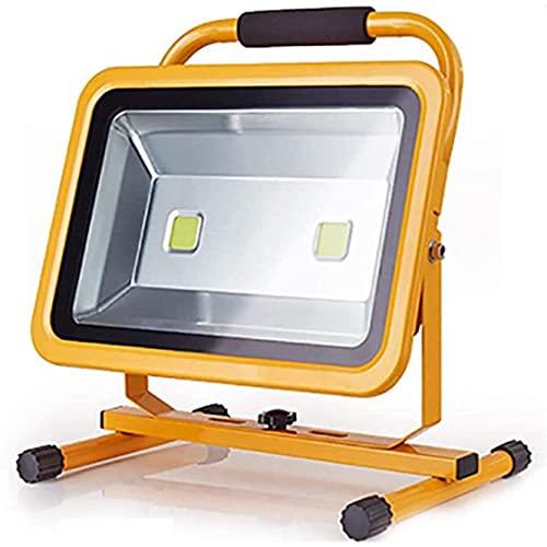 NYZXH Lámpara de Trabajo Recargable de 100W LED, floodlight inalámbrico portátil, lámpara de Verano a Prueba de Agua, Luces de Trabajo de Camping, proyector de Sitio