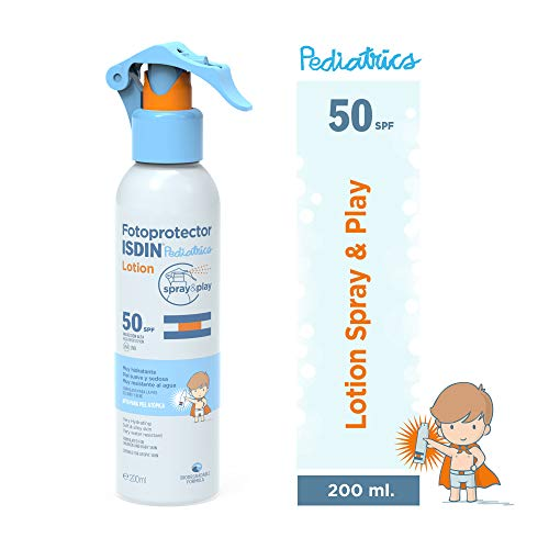 Fotoprotector ISDIN Pediatrics Lotion Spray & Play SPF 50 200 ml |...