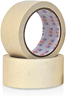 Asmaco General Purpose Masking Tape - 24 mm x 30 yards, 36 Pieces