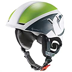 Supair PILOT HELMET Adjustable : THE IDEAL PARAGLIDING HELMET The PILOT helmet was specially developped by SUPAIR for paragliding school. It is modern, comfortable and very light. Size :One size only ( adjustable XS to L ), Weight : 380gr, Colors :Bl...