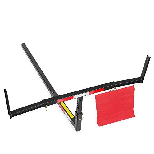 Direct Aftermarket Pick Up Truck Bed Extender Adjustable Hitch Rack for Hauling Lumber Canoe Ladder