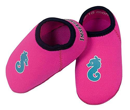 ImseVimse Supersoft Neopren Badeschuhe Baby Badeschuhe pink / Gr. 19-20 (6-12 Monate)