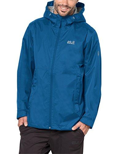 Jack Wolfskin Herren Arroyo Wetterschutzjacke, Electric Blue, XL