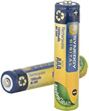 Panasonic KX-TG4753B Cordless Phone Battery Ni-MH, 1.2 Volt, 1000 mAh - Ultra Hi-Capacity - Replacement for 2 Rechargeable Batteries
