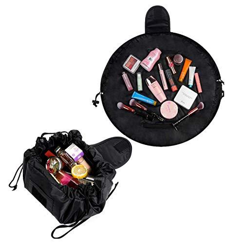 2 Packs A Trousses /à Maquillage Sac Cosm/étique de Stockage Paresseux Trousse de Toilette Imperm/éable /à Cordon de Serrage Sac de Maquillage Organisateur