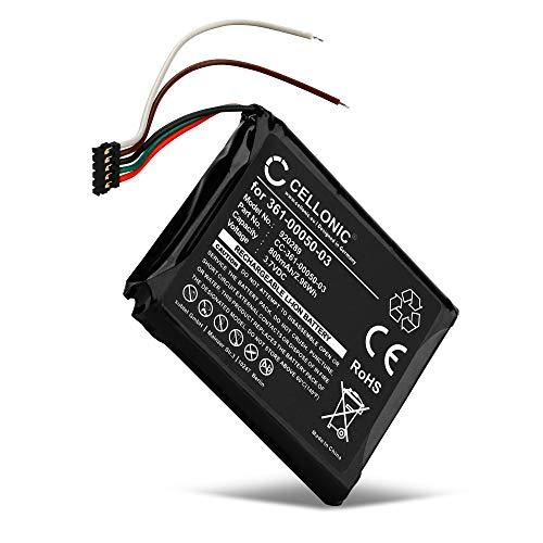 CELLONIC® Batería de Repuesto 361-00050-03,361-00050-10 Compatible con Garmin Edge 510, 800mAh Accu GPS Pila sustitución Battery