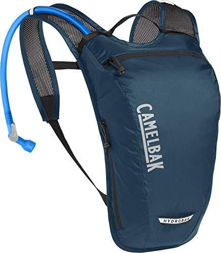 CamelBak Hydrobak Light, Azul, 1,5l Mochila de hidratación, Unisex Adulto, Gibraltar Navy/Black, Talla única