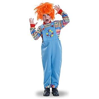 Disfraz de Muñeco Diabólico para niño: Amazon.es: Juguetes y juegos