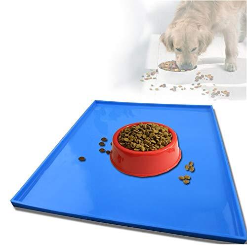 Alfombra Olfativa Perros Útiles suministros mascotas cachorro perro gato alimentación linda estera cojín cama alimentación agua comida plato plato silicone mantel Alfombrillas de adiestramiento para p