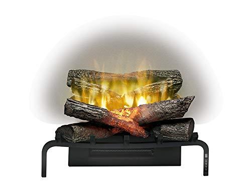"""Dimplex Revillusion 20"""" Plug-in Electric Fireplace Log Insert Set (Model: RLG20), 120V, 1500W, Black"""