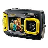COLEMAN 2V9WP-Y 20.0メガピクセル Duo2 デュアルスクリーン防水デジタルカメラ(イエロー)