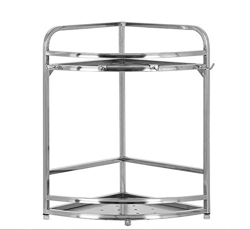 BIANJESUS Cocina Rack Holder Acero Inoxidable 24 * 24 * 39 Cm...