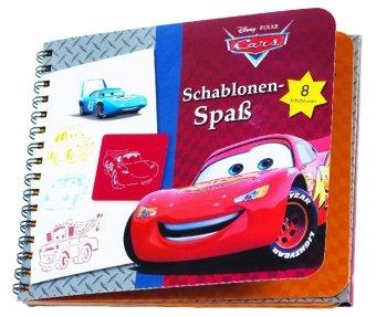 Disney Pixar, Cars, Schablonen-Spaß