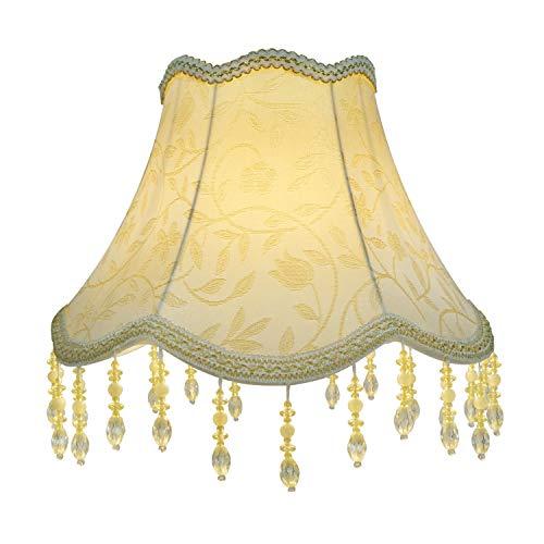 Eastlion Pantalla para lámpara UNO hecha a mano, retro, creativa para lámparas de mesa, lámparas de pie, 15x 30x 22cm