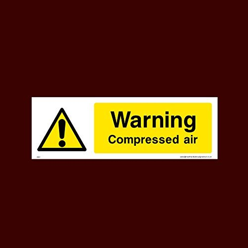 Warnaufkleber für Druckluft, selbstklebend, Vinyl, Warnaufkleber, Warnaufkleber, Gs2, für Service, Mott, Empfang, Reifen, Teile