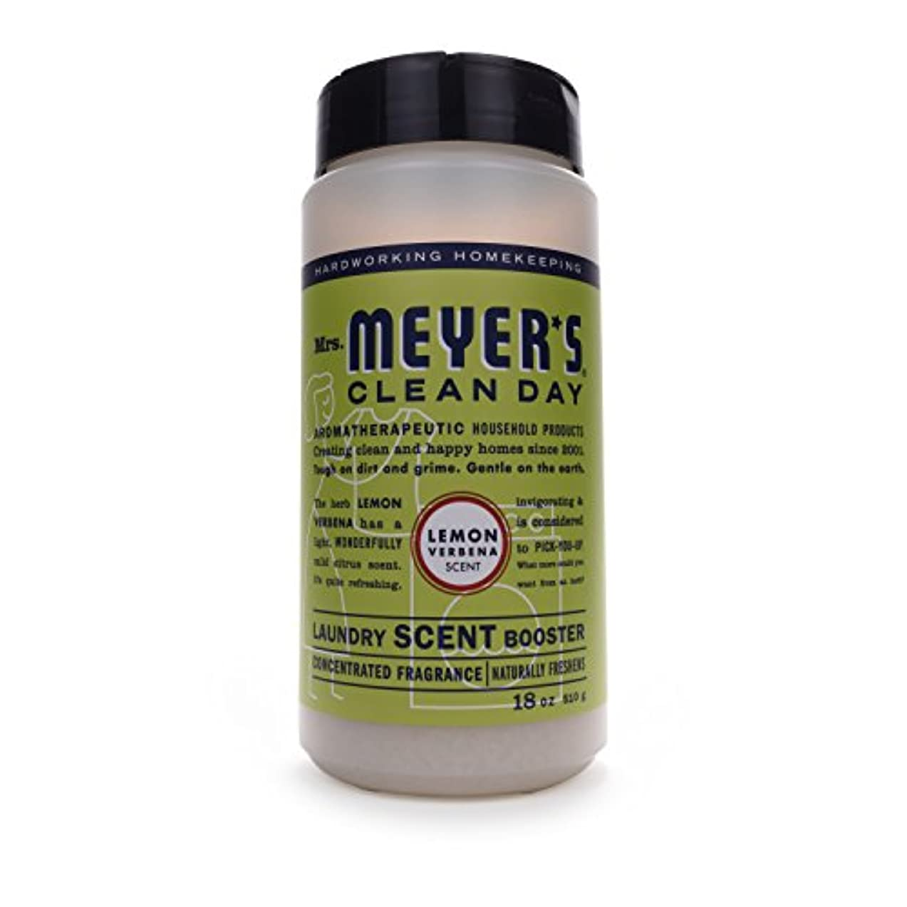 Mrs. Meyer's Clean Day Laundry Scent Booster, Lemon Verbena Scent, 18 ounce bottle